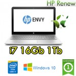 Notebook HP ENVY 15-as002nl Core i7-6500 2.5GHz 16Gb Ram 1Tb 15.6' FHD Windows 10 HOME