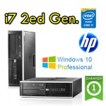 Clone di PC HP Compaq 8200 Elite Core i7-2600 3.4GHz 8Gb Ram 500Gb DVD-RW SFF Windows 10 Professional