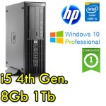 Workstation HP Z230 SF Core i5-4670 3.4GHz 8Gb Ram 1Tb DVDRW Windows 10 Professional