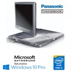 Notebook Panasonic Toughbook CF-C1 Core i5-2520M 4Gb 500Gb 12.1' Touchscreen Windows 10 Professional