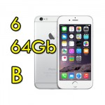 Apple iPhone 6 64Gb White Silver MG4H2ZD/A Argento 4.7' Originale iOS 11 [GRADE B]