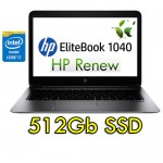 Notebook HP EliteBook Folio 1040 G3 Core i7-6500U 8Gb 512Gb SSD 14' Windows 10 Professional
