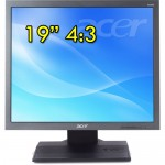 Monitor 19 Pollici Acer B196L 4:3 IPS HD LED VGA DVI Black