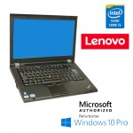 Notebook Lenovo Thinkpad T420 Core i5-2520M 4Gb 160Gb 14.1' LED DVDRW Windows 10 Professional
