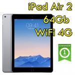 iPad Air 2 64Gb Grigio Siderale WiFi Cellular 4G 9.7' Retina Bluetooth Webcam MGHX2TY/A