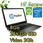 Notebook HP Pavilion 15-au009nl  i5-6200U 8Gb SSD 256G 15.6' FHD AG LED Nvidia GeForce 940MX 2GB Win 10 HOME