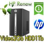 PC HP Pavilion    570-p030nl AMD A10-9700 3.5GHz 12Gb Ram 1Tb Radeon RX 460 Windows 10 home MINI TOWER