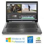 Mobile Workstation HP EliteBook 8760W Core i5-2520M 8Gb 500Gb 17.3' 1600x900 Quadro 3000M Windows 10 Pro
