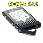 Hard disk per Server HP 600GB 2.5' SFF 6G Dual Port SAS 10K RPM Hot Plug 599476-003