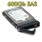Hard disk per Server HP 600GB 2.5' SFF 6G Dual Port SAS 10K RPM Hot Plug 641552-003