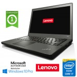 Notebook Lenovo Thinkpad X240 Core  i7-4600U 8Gb 256Gb SSD 12.5' WEBCAM Windows 10 Professional LEGGERO