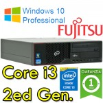PC Fujitsu Esprimo E510 Core i3-2130 3.4GHZ 4Gb Ram 500Gb DVDRW Windows 10 Professional