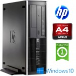 PC HP Compaq Pro 6305 Business Desktop AMD A4-5300B 3.4GHz 4Gb 250Gb DVD Windows 10 HOME