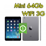 Apple iPad Mini 64Gb WiFi Webcam Bluetooth Black MB294LL/A