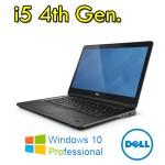 Notebook Dell Latitude E7240 Core i5-4300U 4Gb 128Gb SSD 12.5'  WEBCAM Windows 10 Professional