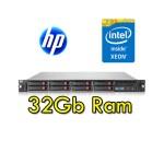 Server HP ProLiant DL360 G7 Xeon Quad Core X5650 2.7GHz 12M 32Gb Ram 292GB SAS (2) PSU Smart Array P410i