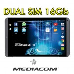 Mediacom SmartPad MX 10 HD Lite 16GB 3G 4G Nero Grigio Tablet