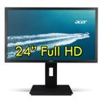 Monitor 24 Pollici Acer B246HL 1920 x 1080 FULL HD DVI VGA