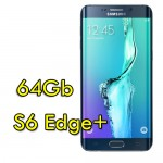 Smartphone Samsung Galaxy S6 Edge+ SM-N928F 4G 64Gb 16MP Black Sapphire