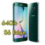 Smartphone Samsung Galaxy S6 Edge SM-G925F 5.1' FHD 4G 64Gb 16MP Green Emerald