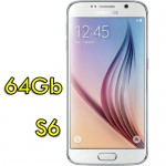 Smartphone Samsung Galaxy S6 SM-G920F 5.1' FHD 4G 64Gb 16MP White Pearl