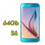 Smartphone Samsung Galaxy S6 SM-G920F 5.1' FHD 4G 64Gb 16MP Blue