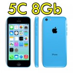 iPhone 5C 8GB Bianco 4G MG902IP/A Blue Originale iOS 10