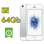 iPhone SE 64Gb Silver A8 WiFi Bluetooth 4G 4' MLM72J/A Argento