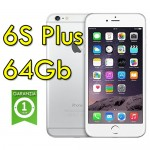 iPhone 6S Plus 64Gb Silver A9 MGCT2LL/A Argento 4G Wifi Bluetooth 5.5' 12MP Originale
