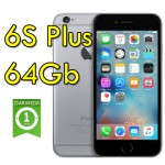 iPhone 6S Plus 64Gb SpaceGray A9 MKU62J/A Grigio Siderale 4G Wifi Bluetooth 5.5' 12MP Originale