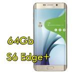 Smartphone Samsung Galaxy S6 Edge+ SM-G928F 4G 64Gb 16MP Gold