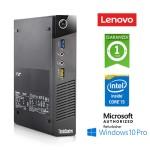 PC Lenovo Thinkcentre M73 TINY Core i5-4570T 2.9GHz 8Gb Ram 128Gb SSD Windows 10 Professional