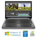 Mobile Workstation HP EliteBook 8770W Core i7-3630QM 16Gb 750Gb 17.4' 1920x1080 Quadro K3000M 10 Pro