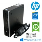PC HP 8300 Elite USDT Core i5-3570S 3.1GHz 4Gb Ram 120Gb DVD Piccolo Leggero Windows 10 Professional