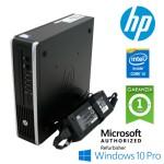PC HP 8300 Elite USDT Core i3-3320 3.3GHz 4Gb Ram 160Gb DVD Piccolo Leggero Windows 10 Professional