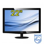 Monitor PC TFT LCD 22 Pollici Philips 220V3L