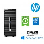 PC HP ProDesk 400 G2 CMT Intel G3250 3.0GHz 4Gb Ram 500Gb DVD-RW Radeon HD 8490 Windows 10 Professional