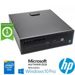 PC HP ProDesk 600 G1 SFF Intel Pentium G3220 3.0GHz 4Gb 500Gb DVD-RW Windows 10 Professional
