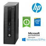 PC HP ProDesk 600 G1 Intel Pentiumg G3220 3.0GHz 4Gb 500Gb noODD Windows 10 Professional SFF