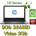 Notebook HP 15-bw022nl AMD A10-9620P 8Gb 256Gb SSD 15.6' HD AMD Radeon 530 2GB Windows 10 HOME