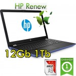 Notebook HP 15-bw023nl AMD A9-9420P 12Gb 1Tb 15.6' HD BV LED Windows 10 HOME