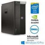 Workstation Dell Precision T5810 Xeon E5-1650V3 32Gb Ram 256Gb DVDRW Quadro K4200 4Gb Windows 10 Professional