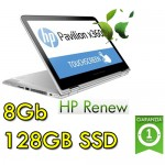 Notebook HP Pavilion x360 14-ba000nl Intel Pentium 4415U 8Gb 128SSD 14' HD Touchscreen Std Kbd Windows 10 home