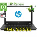 Notebook HP 15-bw001nl AMD E2-9000e 1.5GHz 4Gb 500Gb 15.6' HD AG LED Windows 10 HOME