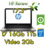 Notebook HP 17-bs001nl Core i7-7500U 2.70GHz 16Gb 1Tb 17.3' HD  AMD Radeon 520 2GB Windows 10 HOME