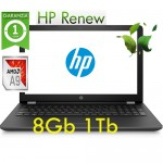 Notebook HP 15-bw020nl AMD A9-9420 8Gb 1Tb DVD-RW 15.6' HD BV LED Windows 10 HOME