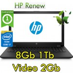 Notebook HP 15-bs041nl Core i5-7200U 8Gb 1Tb 15.6' HD AMD Radeon 520 2GB Windows 10 HOME