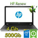 Notebook HP 15-bs054nl Intel Celeron N3060 4Gb 500Gb 15.6' HD BV LED Windows 10 HOME