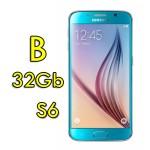 Smartphone Samsung Galaxy S6 SM-G920F 5.1' FHD 4G 32Gb 16MP Blue [Grade B]