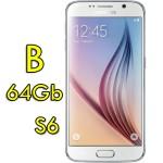 Smartphone Samsung Galaxy S6 SM-G920F 5.1' FHD 4G 64Gb 16MP White Pearl [Grade B]
